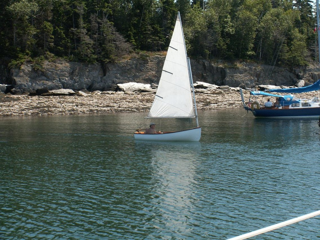Tender, our Cape Dory 10 - TKRonaBoat